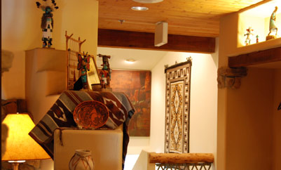 decorative elements in a room