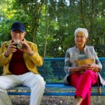 old couple smiling tips for denture care