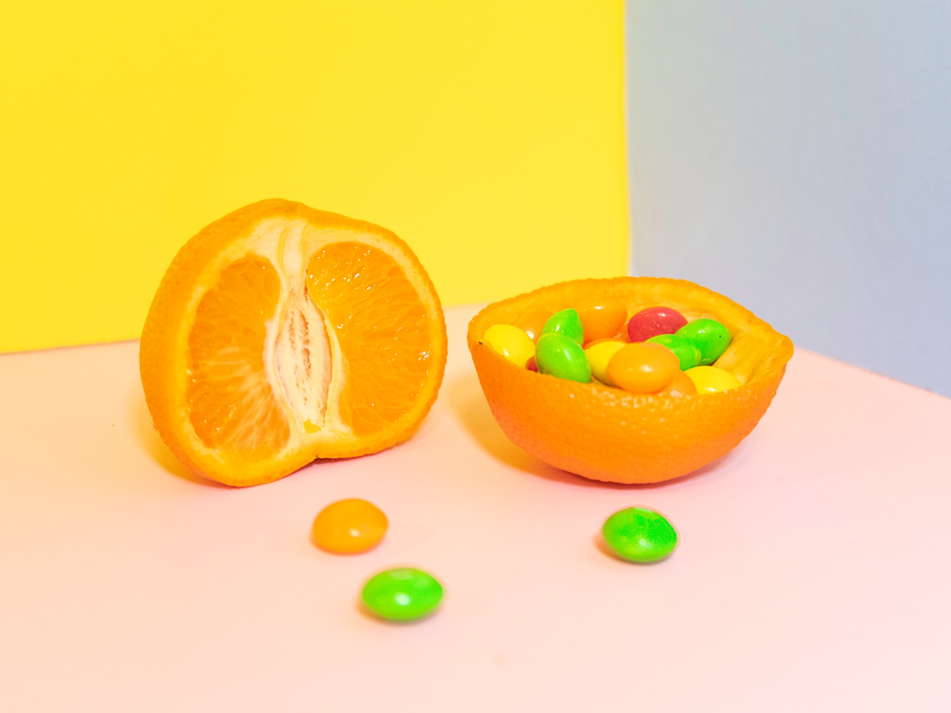 candy and citrus